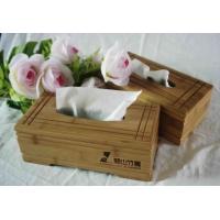 竹木纸巾盒
