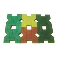 金象彩砖-X型光亮草坪砖