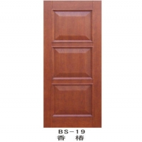 实木装板门