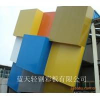 藍天特殊色彩鋼使城市建設更加靚麗!歡迎點擊!