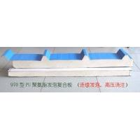 专业生产聚氨脂彩钢夹心板,PU发泡板,高压浇注板