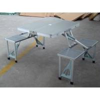 折叠铝桌/连体桌椅/野餐桌椅/户外桌椅