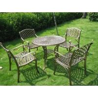 铸铝桌椅/户外桌椅/休闲桌椅/野餐桌椅