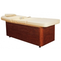 豪华型美容美体床 美容美体工具 铁架 原木床 美体美容仪器设