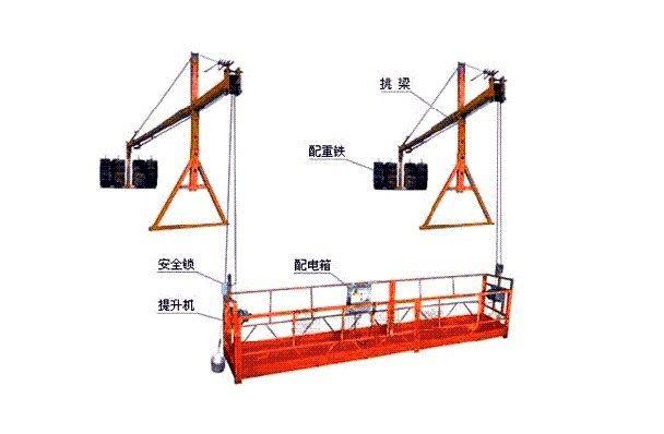 厂家供应zlp-630型电动吊篮