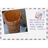 熏蒸足部保健养生木桶