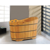 【演绎优质平价木桶】进口橡木木桶浴缸