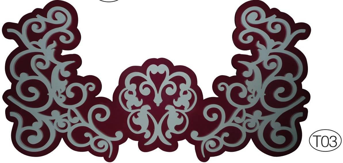 产品花纹:威艺有400多种花纹图案供客户选择