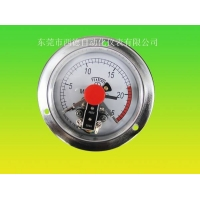 轴向耐震电接点压力表