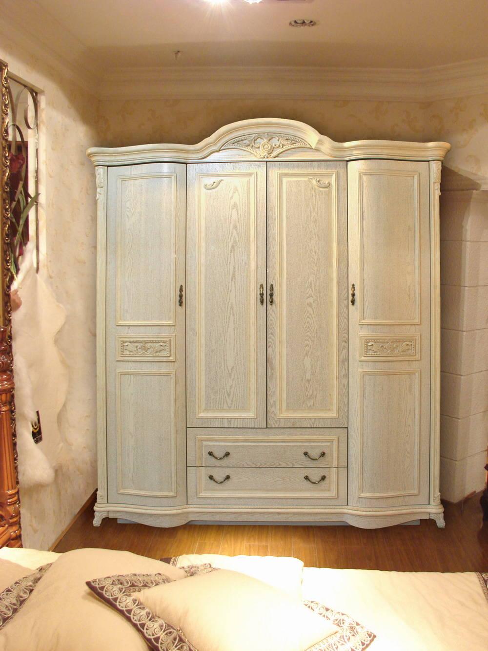 威龙家具-床头柜侧面 威龙家具-床 威龙家具-衣柜