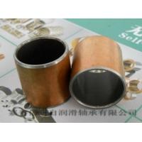 厂家直供钢基铜塑三层复合无油轴承SF-1轴套