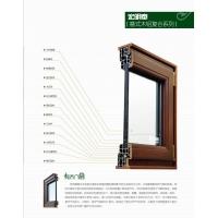 意式木铝复合窗-优质欧式木窗