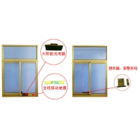 智能电动窗驱动器、电动窗帘机及智能电话语音防盗报警器等安防系
