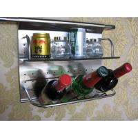 南京厨具-澳兰仕厨具-挂件系列-双层斜瓶置物架