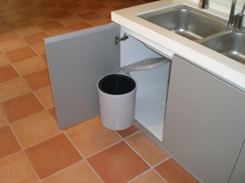 旋开式柜内垃圾桶 - 澳兰仕厨具