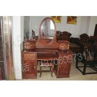 老挝大红酸枝梳妆台,交趾黄檀梳妆台,老红木梳妆台