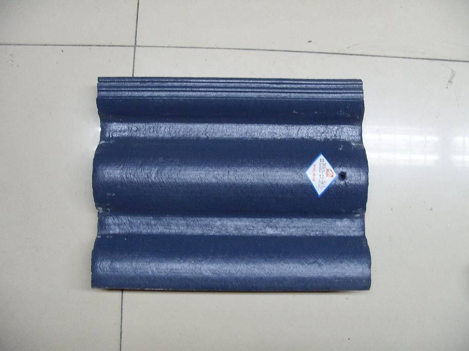 中国 水泥彩瓦/颜色可调,多种规格型号,广泛运用于小区屋面\别墅屋面等