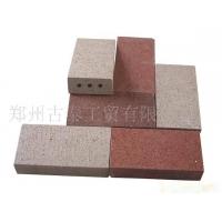 紫砂真空路面砖、广场砖、道板砖