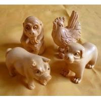 黄杨木雕--十二生肖