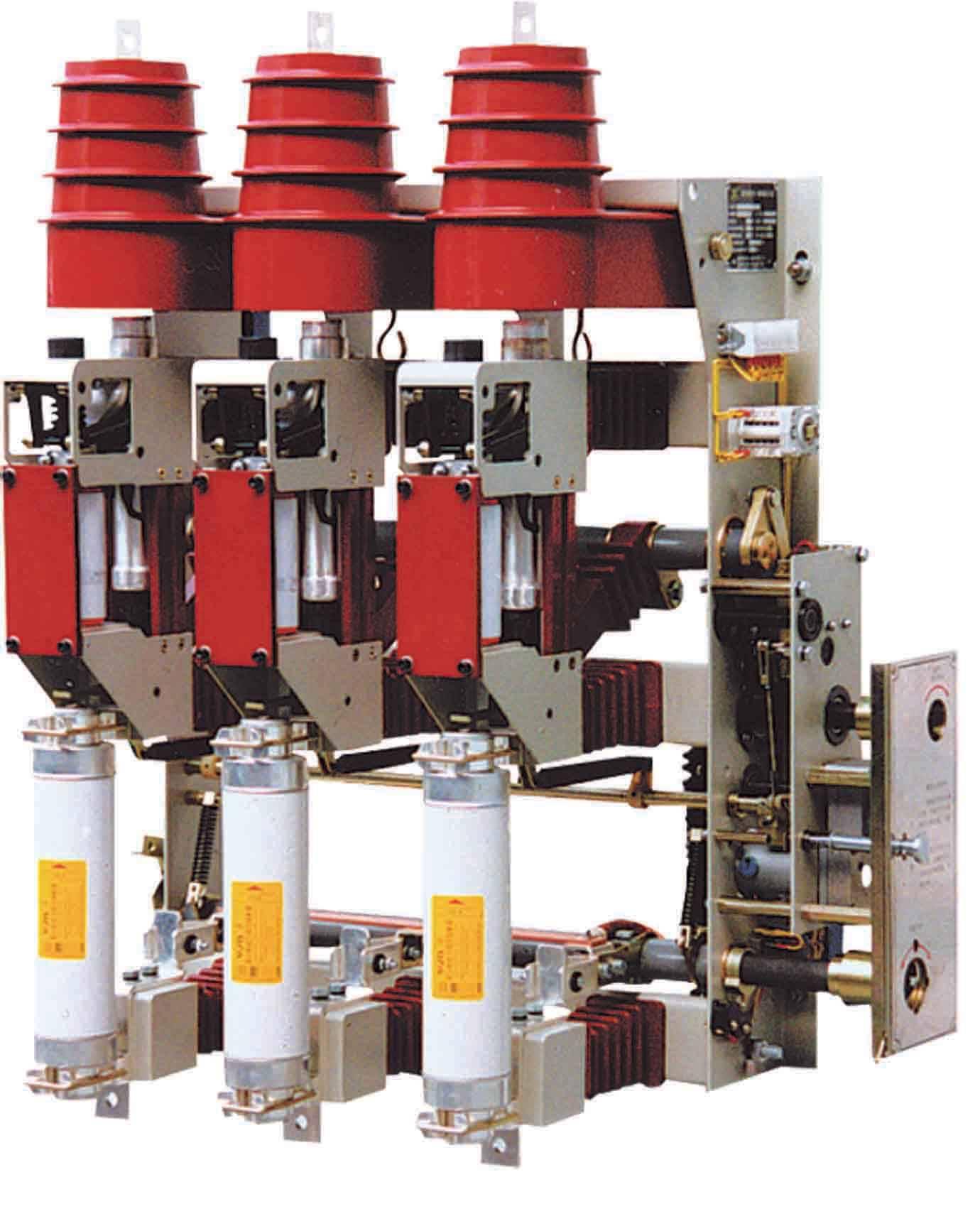 简述变压器保护用熔断器负荷开关的选择与配合?