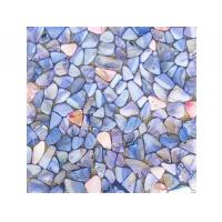 淡水贝自由型染色马赛克(蓝色系)
