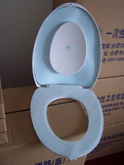 自动垫纸卫生马桶盖是我公司专门为星级宾馆