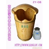 出口韩国订单高级带盖香柏木熏蒸沐足桶