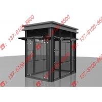 上海迅捷鋼結構崗亭/304不銹鋼崗亭/鋁塑板崗亭/玻璃崗亭