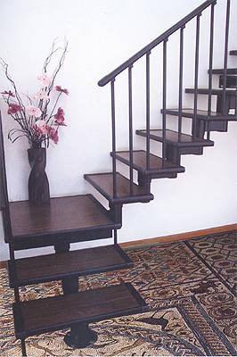 泰吉楼梯-平台转角梯