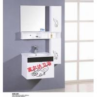 PVC浴室柜 卫浴洁具 pvc柜 橡木柜 浴柜 陶瓷台面