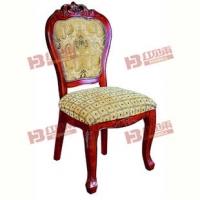 12批发红贝尔酒店椅 餐椅 豪华椅子 进口橡木龙骨+工艺雕