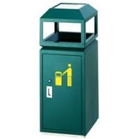 垃圾桶,方形户外垃圾桶