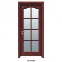 家豪套装门-实木复合烤漆玻璃门JH-0936