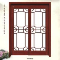 家豪套装门-实木复合烤漆玻璃门JH-0933