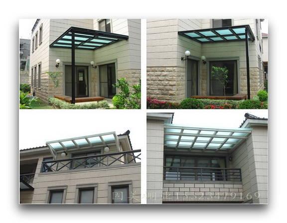 珠海自行车棚、遮阳布别墅,图纸工厂产品塑胶车棚雨棚图片