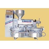 内加热式螺旋榨油机‖可控喂料式螺旋榨油‖条排料筒型液压榨油机