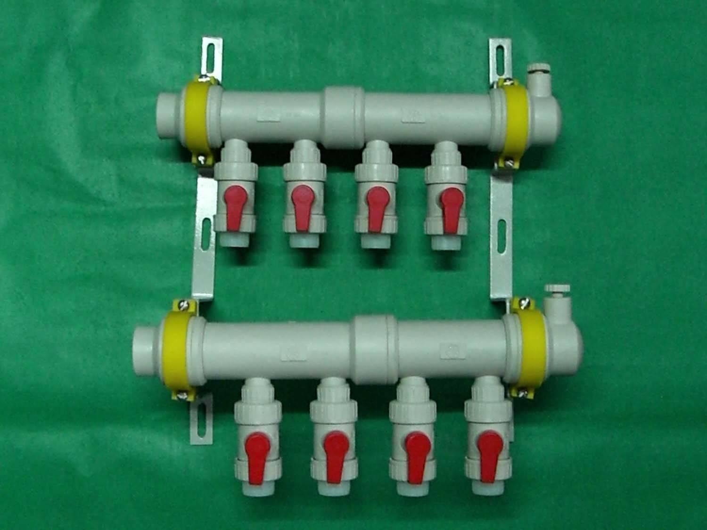 地暖塑料分水器 - 三山管业