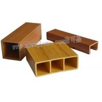 生态木方通天花热转印效果,绿可木木塑,环保节能,隔音板