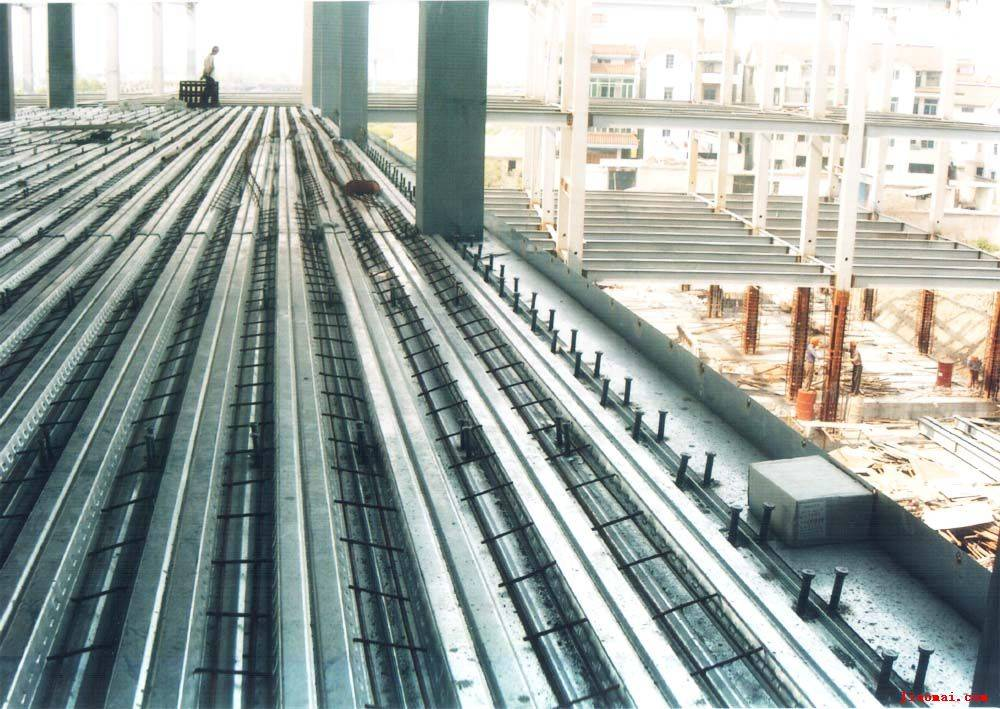 萧山楼承板全闭口钢承板压型钢板组合楼板专业生产 九正建材网