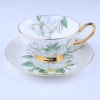 建业陶瓷杯碟套装,骨质瓷餐具批发,日用陶瓷