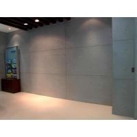 清水效果装饰材料:斯麦尔木丝水泥板;清水混凝土板