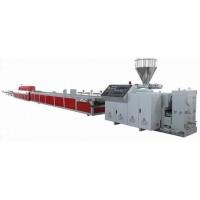 供应金纬木塑(WPC)型材地板挤出生产线