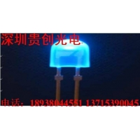 5MM椭圆绿光 LED灯珠120元1K 贵创光电