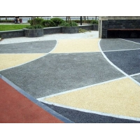 高承载透水艺术地坪  透水混凝土