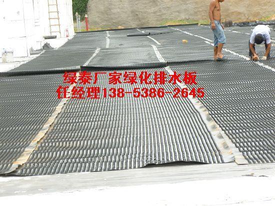 金华屋顶花园车库绿化专用排水板