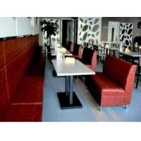 杭州铸铁脚餐桌 大理石西餐桌 防火板西餐桌 酒吧吧桌厂家定做