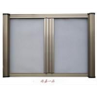 厦门新型防蚊隐形纱窗铝合金门窗实体店|金属门窗图片