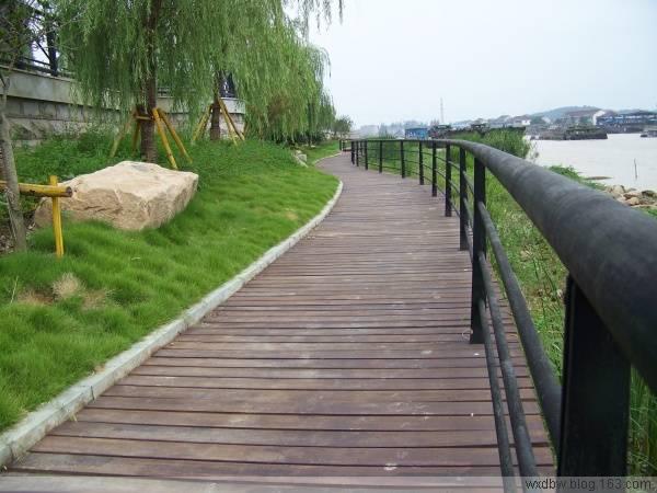 湖边木栈道水边木栈道防腐木材质