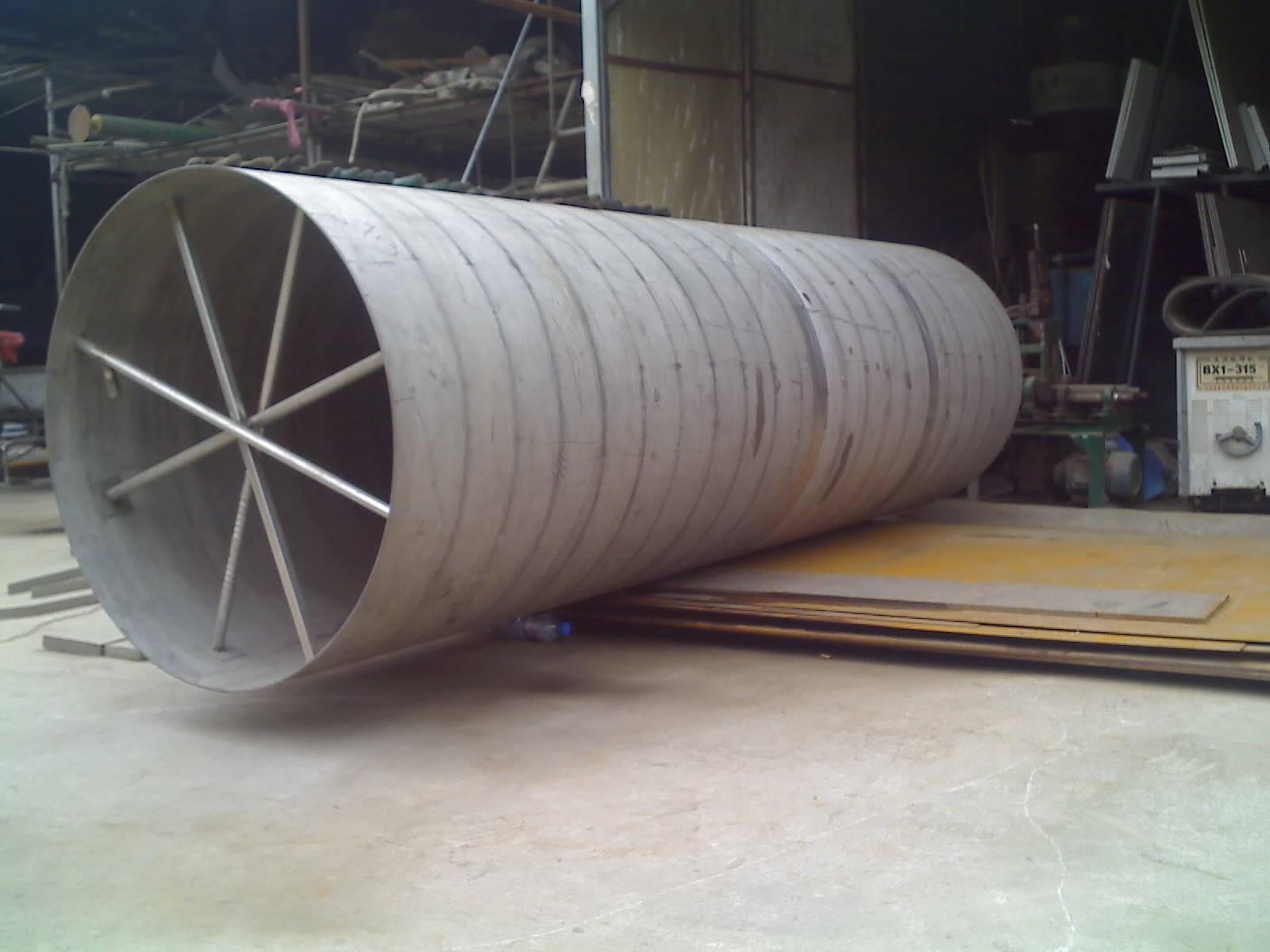 不锈钢垃圾桶 不锈钢水塔 钣金加工 不锈钢法兰