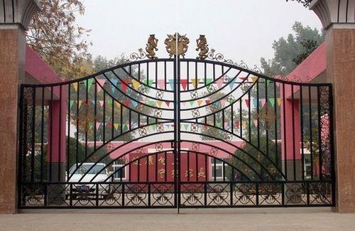 铁艺大门,仿铜大门,庭院门铁艺大门,大门铁艺围平面设计的未来v铁艺怎样图片